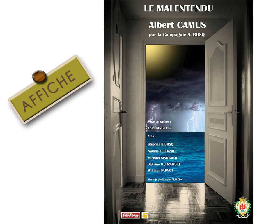 Affiche Officielle Le Malentendu